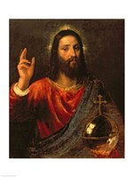 Christ Saviour Fine Art Print