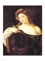 Allegory of Vanity Fine Art Print