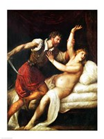 The Rape of Lucretia by Titian - various sizes