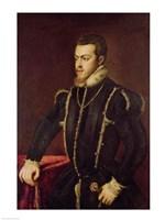 Portrait of Philip II Fine Art Print