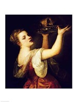 Salome Carrying the Head of St. John the Baptist by Titian - various sizes