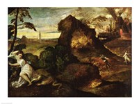 Orpheus and Eurydice by Titian - various sizes, FulcrumGallery.com brand