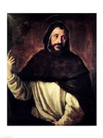 St. Dominic by Titian - various sizes