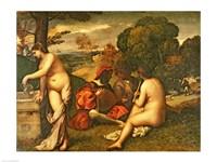 Le Concert Champetre by Titian - various sizes
