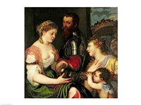 Allegory of Married Life Fine Art Print