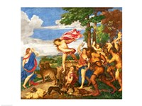 Bacchus and Ariadne by Titian - various sizes, FulcrumGallery.com brand