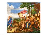 Bacchus and Ariadne Fine Art Print