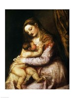 The Virgin and Child by Titian - various sizes