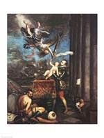 Allegory of the Battle of Lepanto Fine Art Print