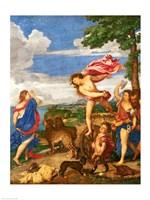 Bacchus and Ariadne Panel Fine Art Print