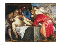 The Entombment of Christ, 1559 Fine Art Print