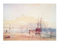 Scarborough, 1825 Fine Art Print