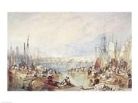 The Port of London Fine Art Print