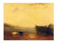 Teignmouth Harbour by J.M.W. Turner - various sizes - $16.49
