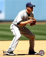 """Chase Headley 2011 Action - 8"""" x 10"""", FulcrumGallery.com brand"""
