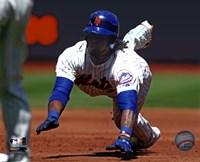 """Jose Reyes 2011 Action - 10"""" x 8"""""""