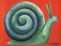 "Escargot by David Bromstad - 24"" x 18"""