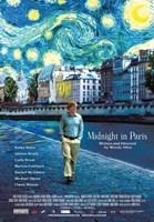 "Midnight in Paris - 11"" x 17"", FulcrumGallery.com brand"