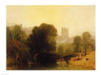 Near the Thames Lock, Windsor, c.1809 Fine Art Print