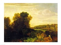The Thames at Weybridge Fine Art Print