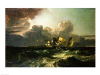 Ships Bearing up for Anchorage by J.M.W. Turner - various sizes