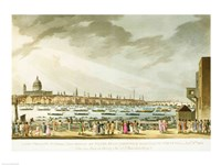 Lord Nelson's funeral procession by J.M.W. Turner - various sizes