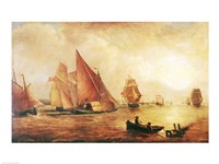 Estuary of the Thames and the Medway Fine Art Print