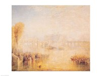 View of the Pont Neuf, Paris Fine Art Print