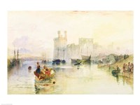 View of Carnarvon Castle Fine Art Print