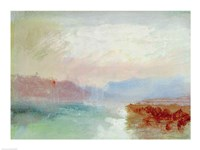 River scene, 1834 Fine Art Print