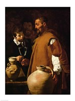 Waterseller of Seville, c.1620 Fine Art Print