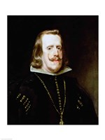 Philip IV (profile) by Diego Velazquez - various sizes, FulcrumGallery.com brand