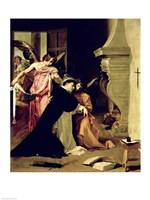 Temptation of St.Thomas Aquinas Fine Art Print