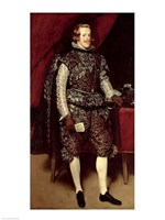 Philip IV by Diego Velazquez - various sizes, FulcrumGallery.com brand