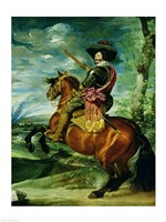 Equestrian Portrait of Don Gaspar de Guzman by Diego Velazquez - various sizes