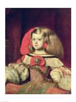 Portrait of the Infanta Margarita Fine Art Print