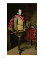 Portrait of Philip IV of Spain Fine Art Print