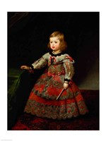 The Infanta Maria Margarita of Austria as a Child Fine Art Print