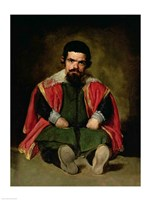 Don Sebastian de Morra by Diego Velazquez - various sizes