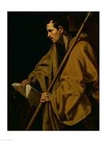 The Apostle St. Thomas Fine Art Print
