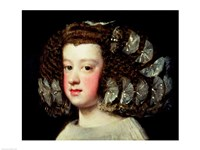 The Infanta Maria Theresa Fine Art Print