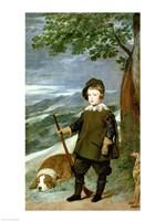 Prince Balthasar Carlos Fine Art Print