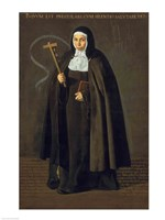 Madre Maria Jeronima de la Fuente, 1620 by Diego Velazquez, 1620 - various sizes