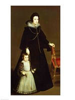 Dona Antonia de Ipenarrieta y Galdo by Diego Velazquez - various sizes