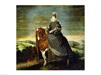 Portrait of Queen Margaret of Austria Fine Art Print