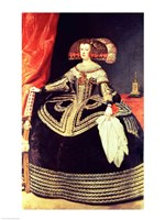 Queen Mariana of Austria Fine Art Print
