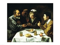 The Lunch, 1620 Fine Art Print