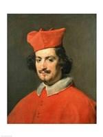 Portrait of Cardinal Camillo Astali Pamphili, 1650 Fine Art Print