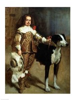 A Buffoon by Diego Velazquez - various sizes