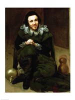 The Buffoon Calabacillas by Diego Velazquez - various sizes - $16.49